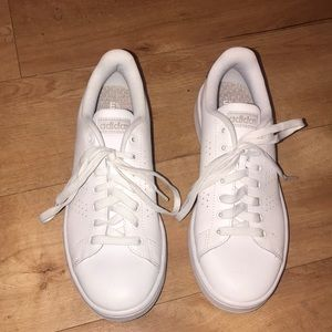 Adidas Cloudfoam White Sneakers